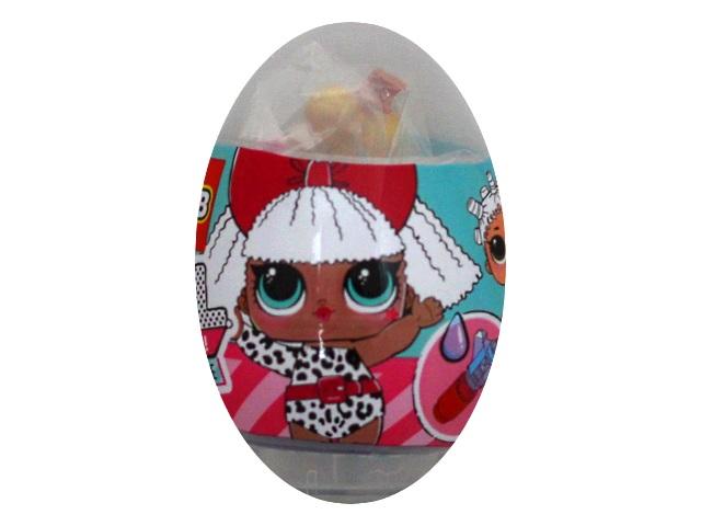 Кукла конструктор в яйце MI096