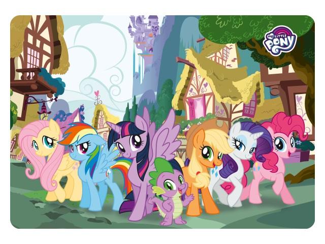 Покрытие настольное А4 Академия Холдинг My Little Pony MPFB-US1-PLBA4