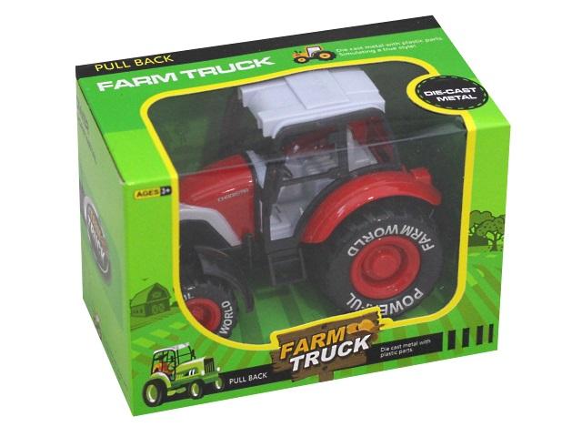 Машина металл Farm Truck Трактор 16см 1887134