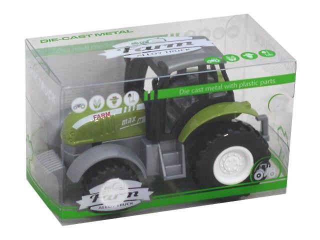 Машина металл Farm Alloy Truck Трактор №9 10см 1956682