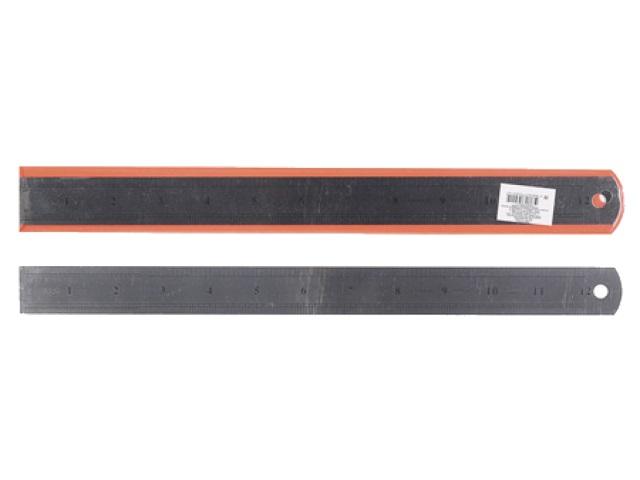 Линейка  30 см металл в чехле Klerk 183011/170014
