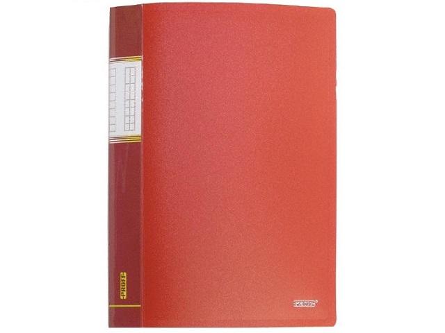 Папка с файлами  10ф А4 красная Proff Next DB10AB-01