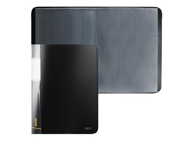 Папка с файлами  10ф А4 черная Proff Next DB10AB-06
