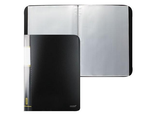Папка с файлами 30 файлов А4 черная, Proff Next DB30AB-06