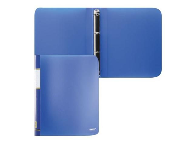 Папка на 4 кольца А4 16 мм синяя, Proff Next RB 16-4-04