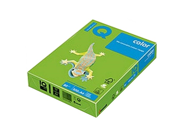 Бумага А4 160 г/м2 250 л. IQ Color интенсив ярко-зелёный MA42 156090