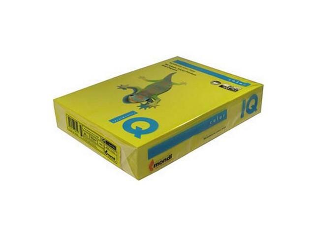 Бумага А4  80 г/м2 500 л. IQ Color интенсив горчичный IG50 65147