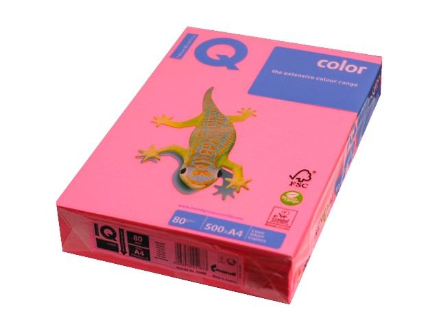 Бумага А4  80 г/м2 500 л. IQ Color неон розовый NEOPI 155896