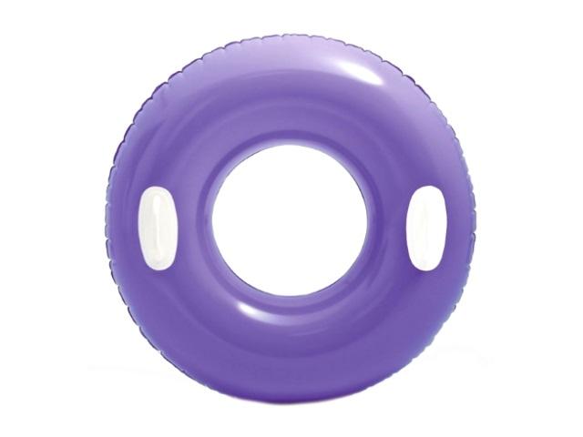 Круг Intex  76см с держателями цветной 59258\24 в пак
