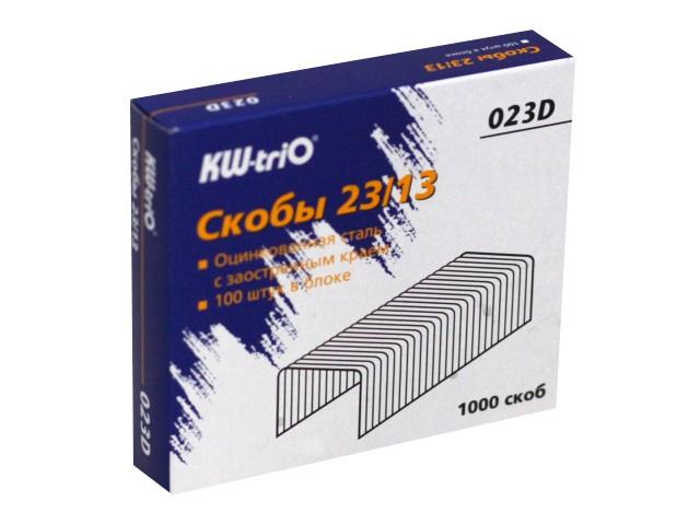 Скоба №23/13 Kw-Trio 023D 1000 шт.
