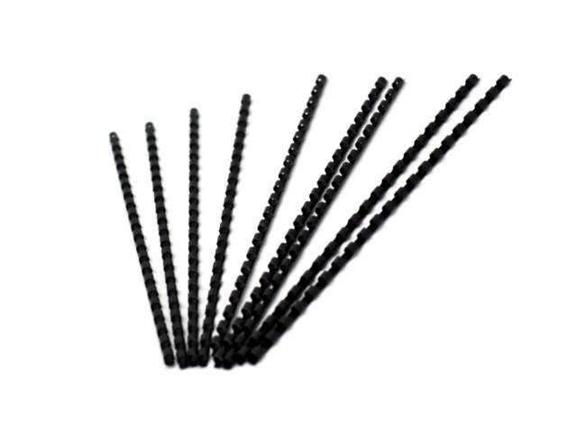 Пружины для брошюровки  6 мм черные 100 шт. Lamirel LA-78667