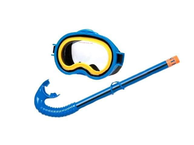 Набор для плавания, 2 предмета (маска, трубка), для детей от 8 лет, блистер, Intex