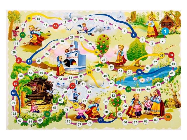 Настольная игра Гуси-Лебеди ИН-5204