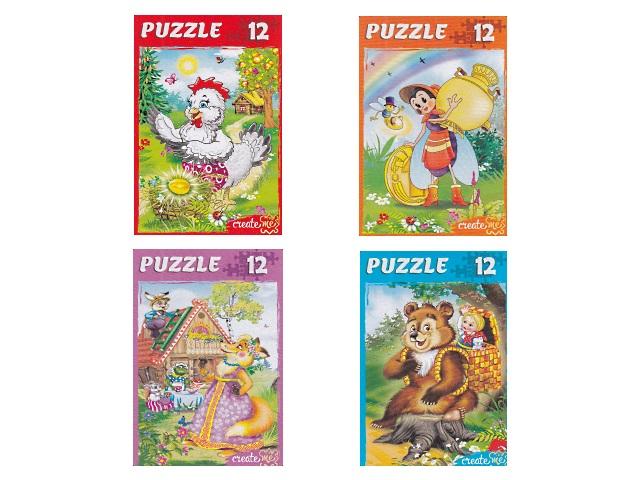 Пазлы   12 деталей Сказки для малышей П12-1265