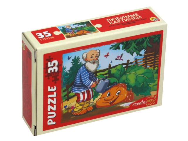 Пазлы   35 деталей Рыжий кот Любимые картинки П35-3256