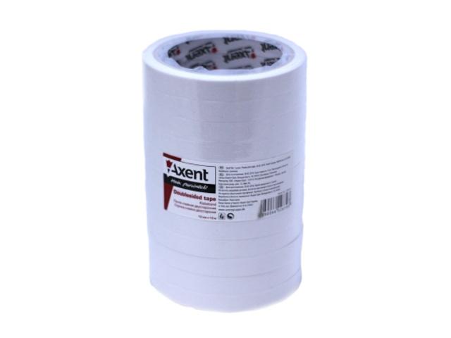 Скотч двухсторонний 12*10м Axent 3100-A
