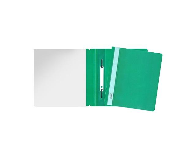 Скоросшиватель А5 Hatber зеленый матовый AS5_00104