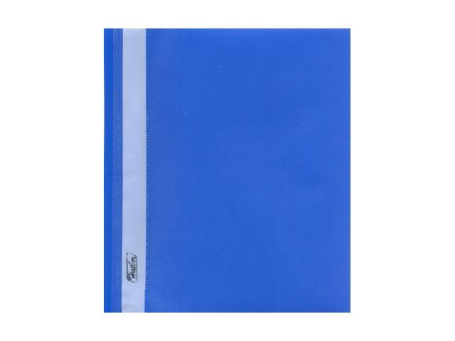 Скоросшиватель А5 синий матовый Hatber AS5_00102