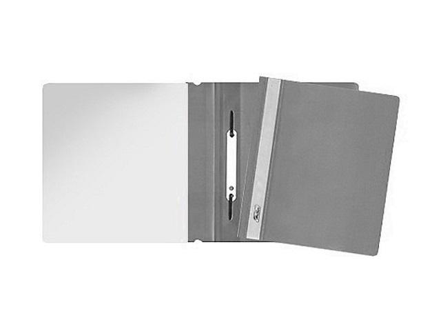 Скоросшиватель А5 Hatber серый матовый AS5_00108
