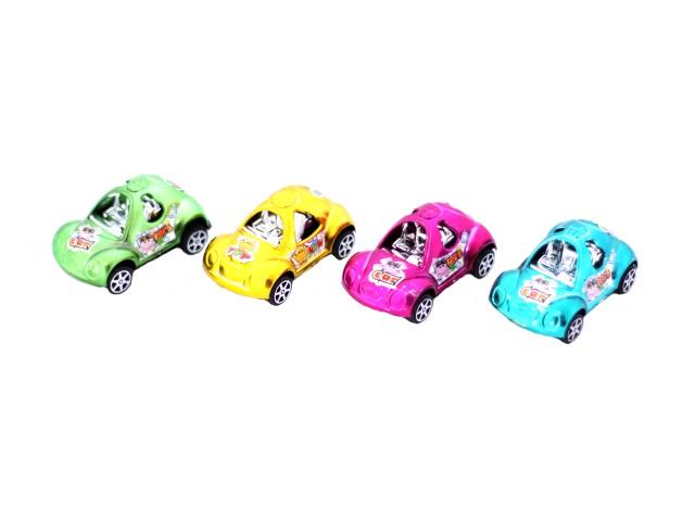 Машина инерционная пластиковая маленькая, в пакете, арт. 198-1