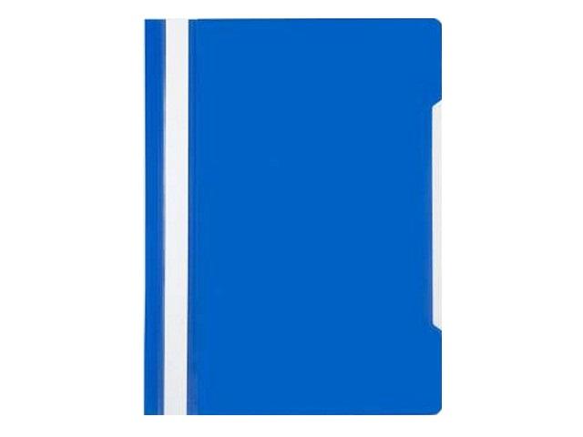 Скоросшиватель А4 Бюрократ синий глянцевый PS20BLUE