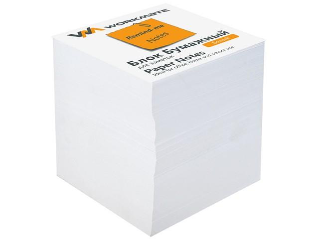 Блок бумажный белый  90*90 мм 900л WM 003002800