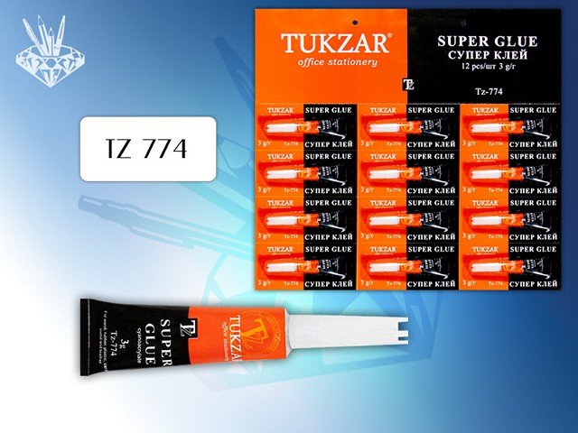 Клей супер   3г Tukzar TZ 774