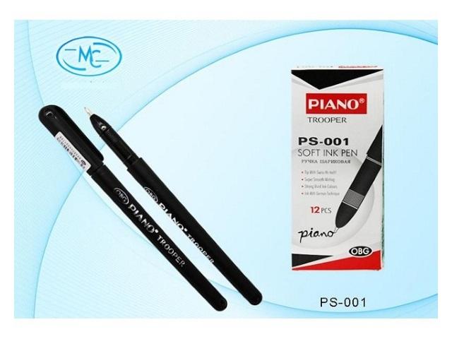 Ручка шариковая Piano Trooper черная 0.5мм PS-001