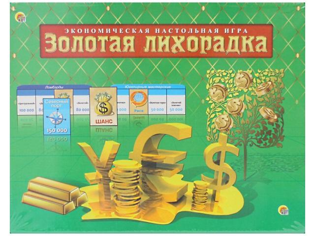 Настольная игра Золотая лихорадка ИН-1790