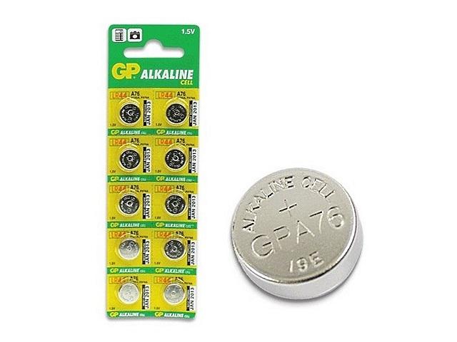 Батарейка часовая G13 GP 1.5V Alkaline А-76 щелочная