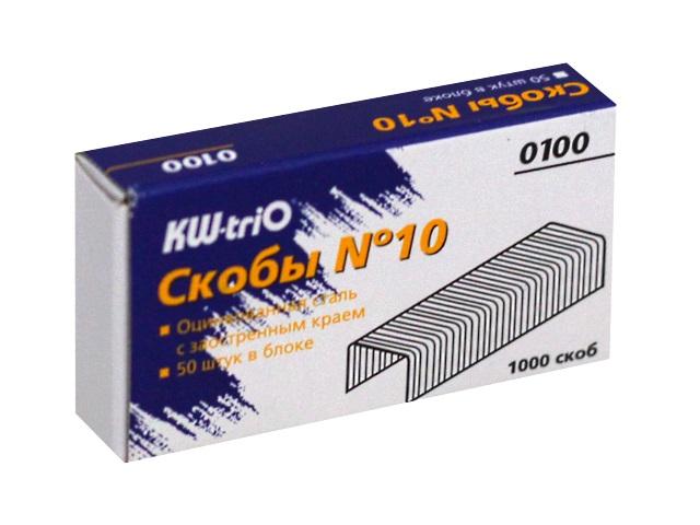 Скоба №10 Kw-Trio 0100 1000 шт.