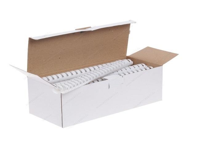 Пружины для брошюровки 22 мм белые 50 шт. Fellowes FS-53478