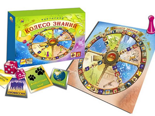 Настольная игра Викторина Колесо знаний ИН-7645