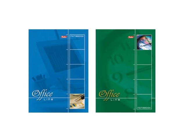 Блокнот А5 спираль сверху м/обложка  60л Office Line Hatber 60Б5B1сп_01971