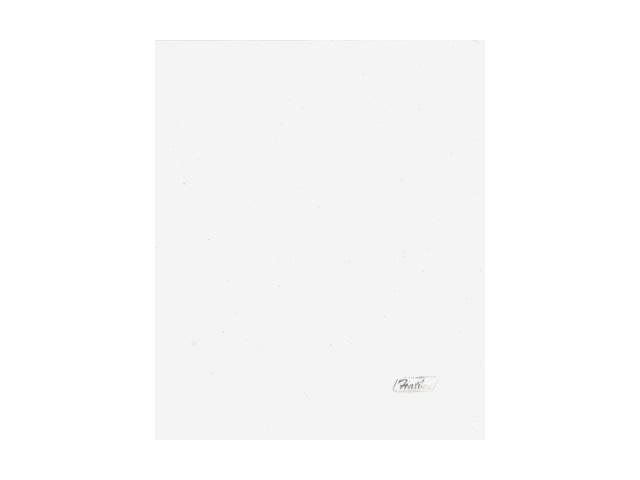 Уголок А5 180мкм прозрачный белый глянцевый Hatber AG5_00100