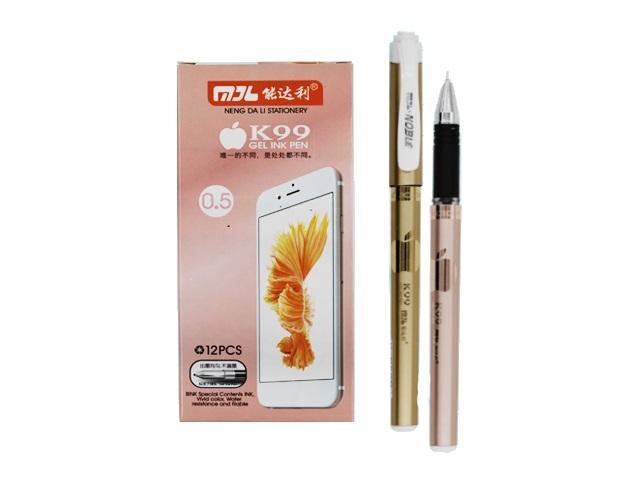 Ручка гелевая Basir Noble черная 0.5мм К99