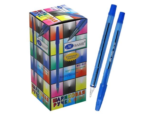 Ручка шариковая Basir МС-927 синяя 0.7мм