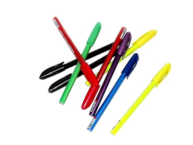 Ручка масляная Piano Correct синяя 1мм трехгранная PT-1159-С