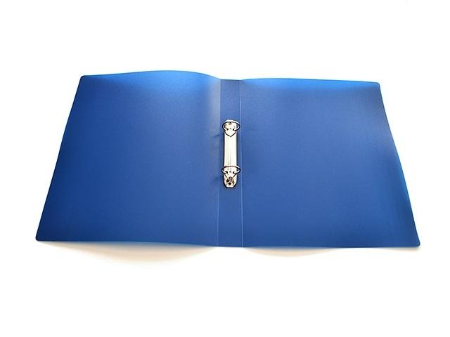 Папка на 2 кольца, А4, 25мм., синяя, Proff Next