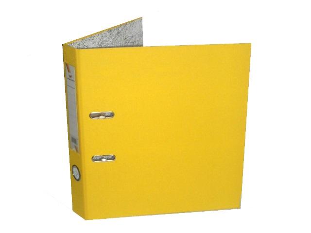 Регистратор  А4/50 WM желтый с металлической окантовкой 059000908