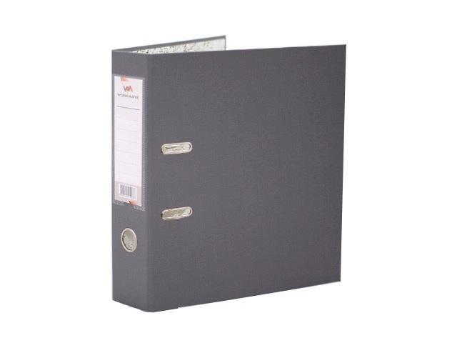 Регистратор  А4/80 WM серый с металлической окантовкой 059001003