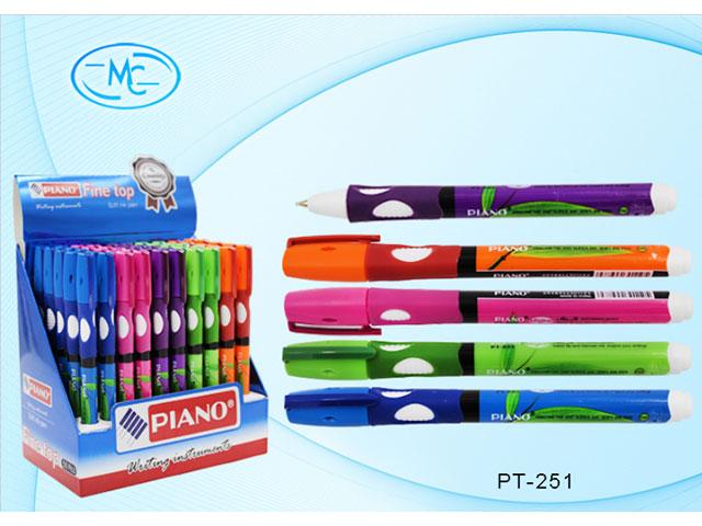 Ручка масляная Piano Basir синяя 0.7мм РТ-251
