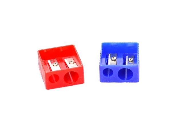 Точилка пластик двойная Attomex 4071301