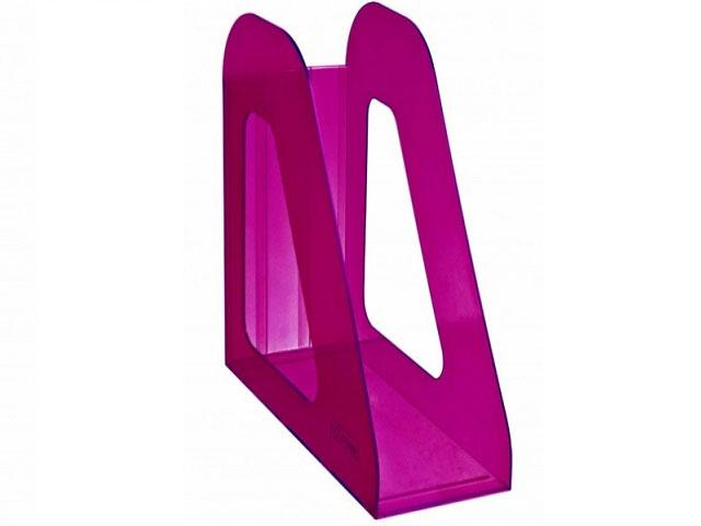 Лоток вертикальный  9см фиолетовый тонированный Фаворит ЛТ709