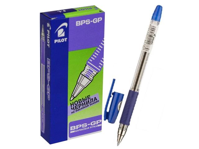 Ручка шариковая Pilot 0.7мм синяя BPS-GP-F L