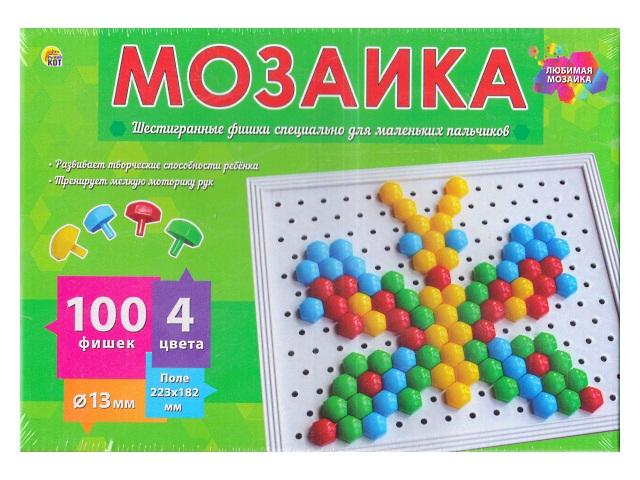 Мозаика 100 деталей d=13мм М-0283