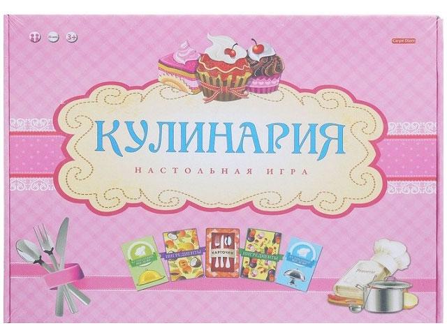 Настольная игра Кулинария ИН-2879