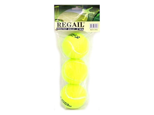 Мяч для тенниса, набор 3шт., Tiger, в пакете