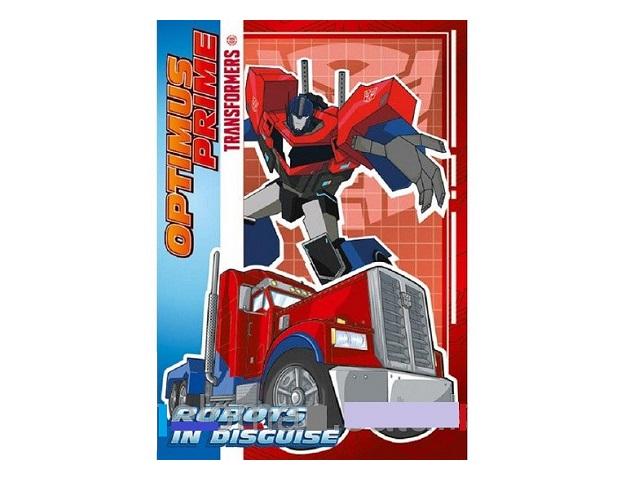 Блокнот В6 Академия Холдинг клееный м/обложка 40л линия Transformers Prime ЕАС-TR105-2