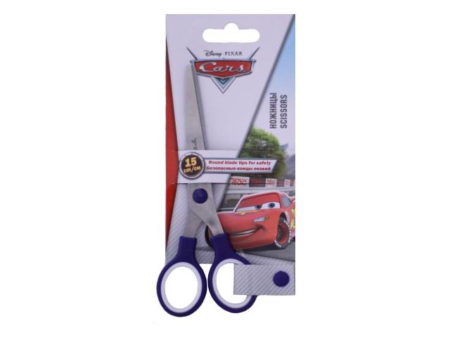 Ножницы детские 15 см Cars пластиковые ручки CRDB-US1-SC15-BL1